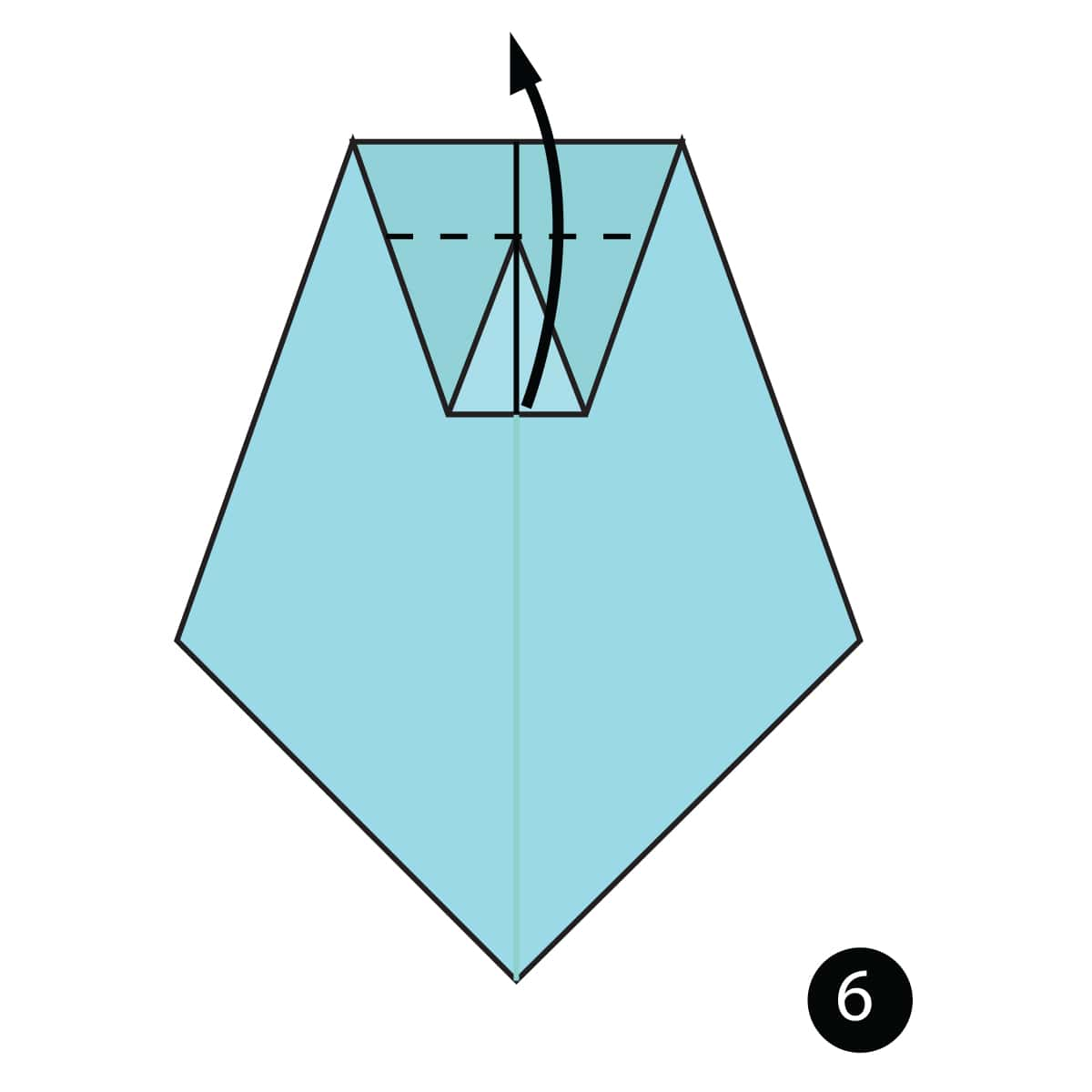 Necktie Step 6