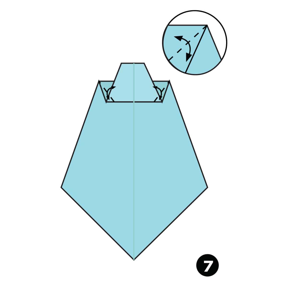 Necktie Step 7