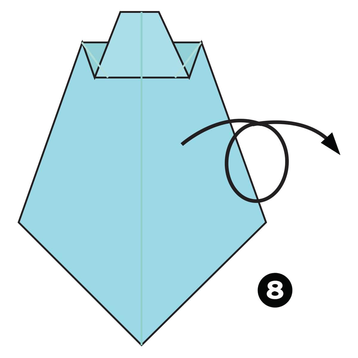Necktie Step 8