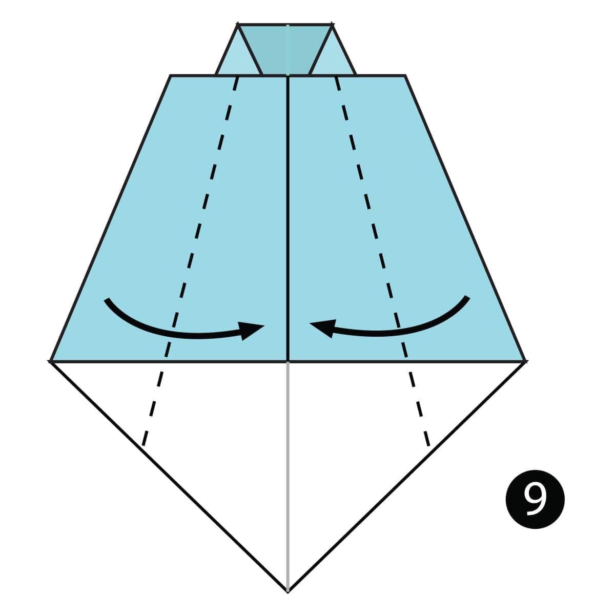 Necktie Step 9