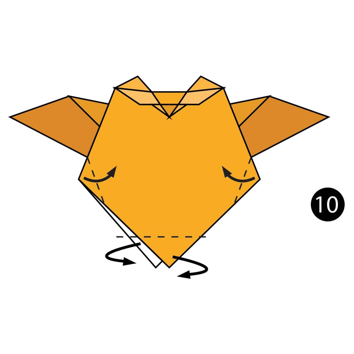 Owl Step 10