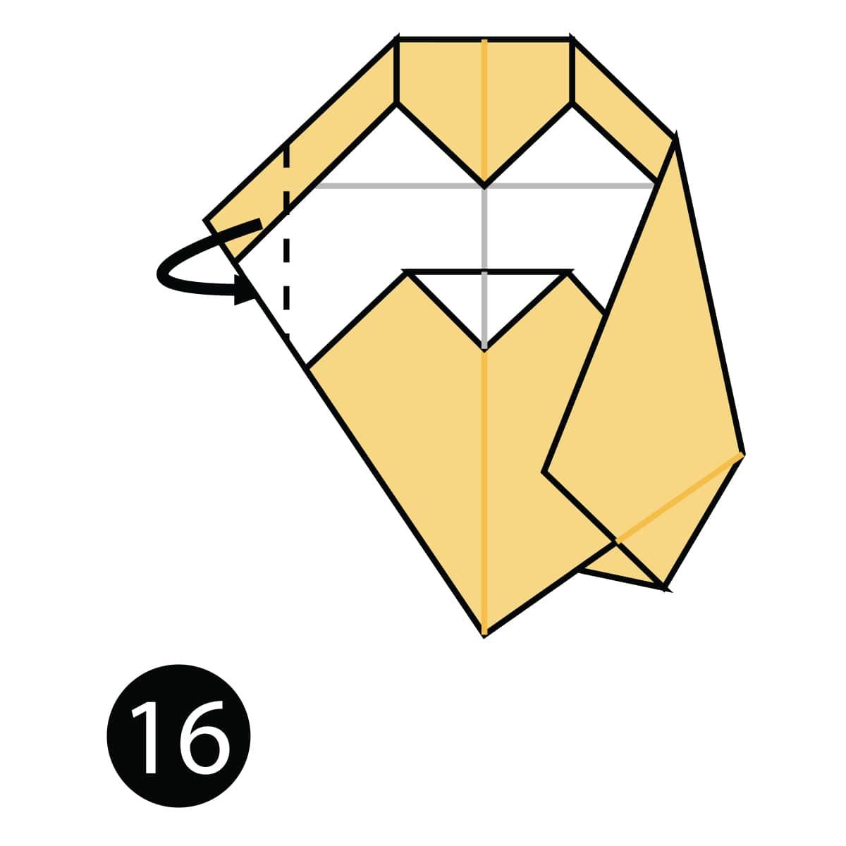 Owl Step 16