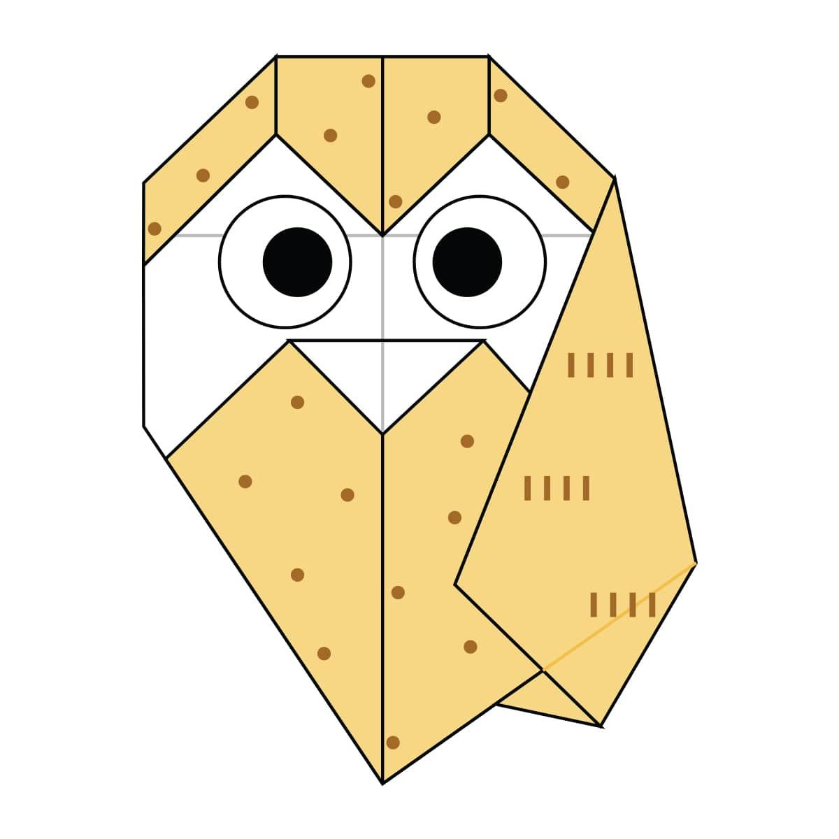 Owl Step 17