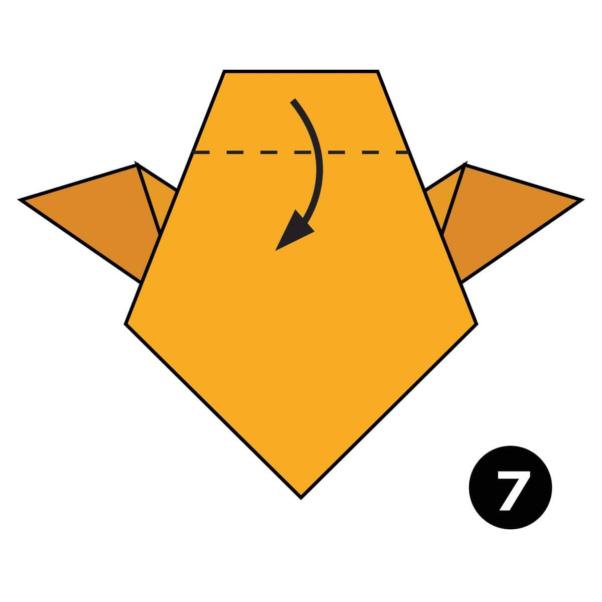 Owl Step 7