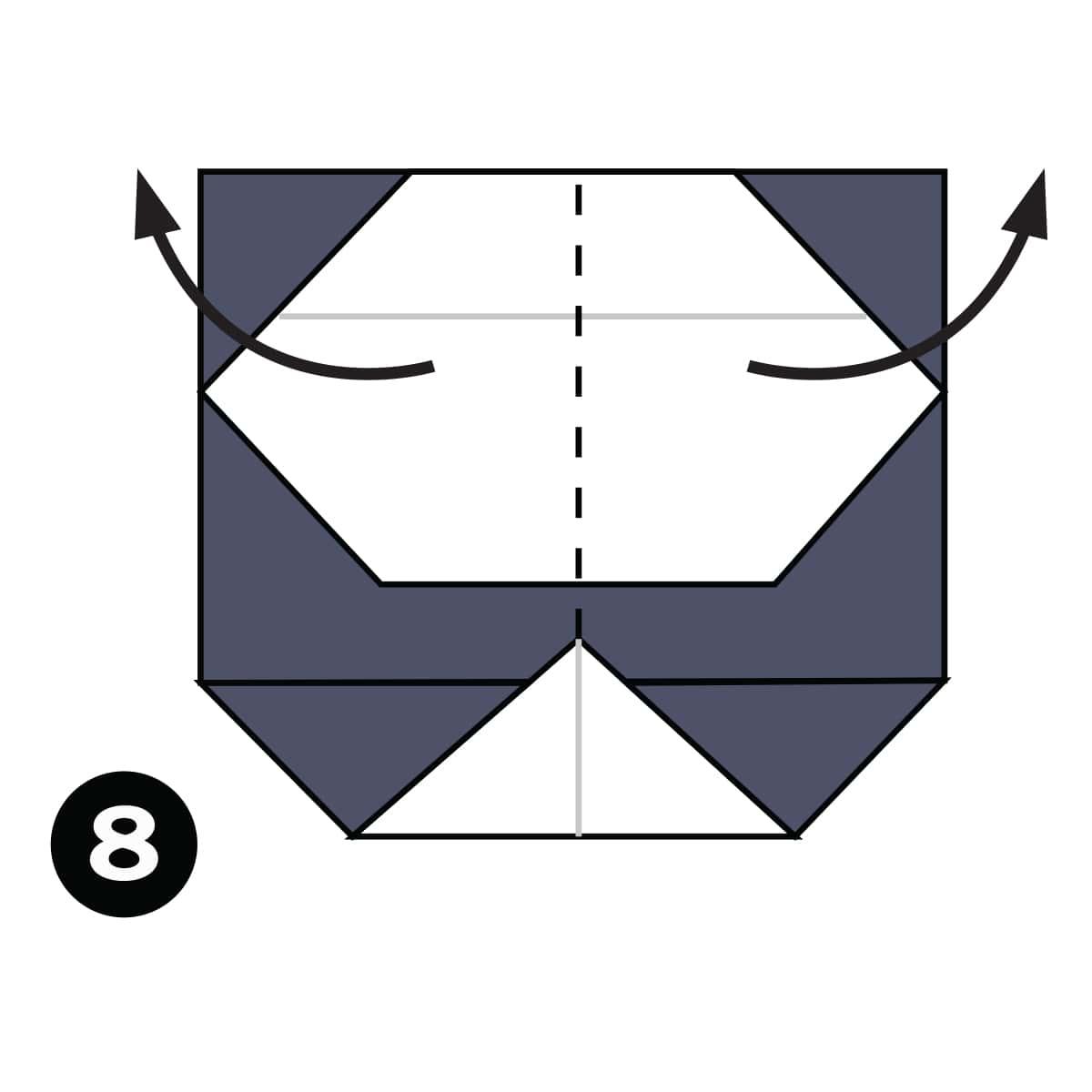 Panda Step 8