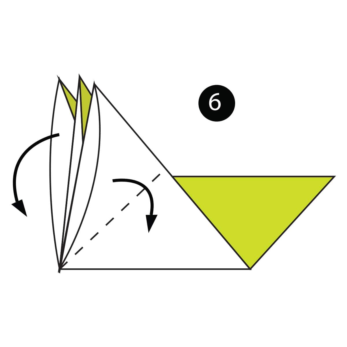 Pigeon Step 6