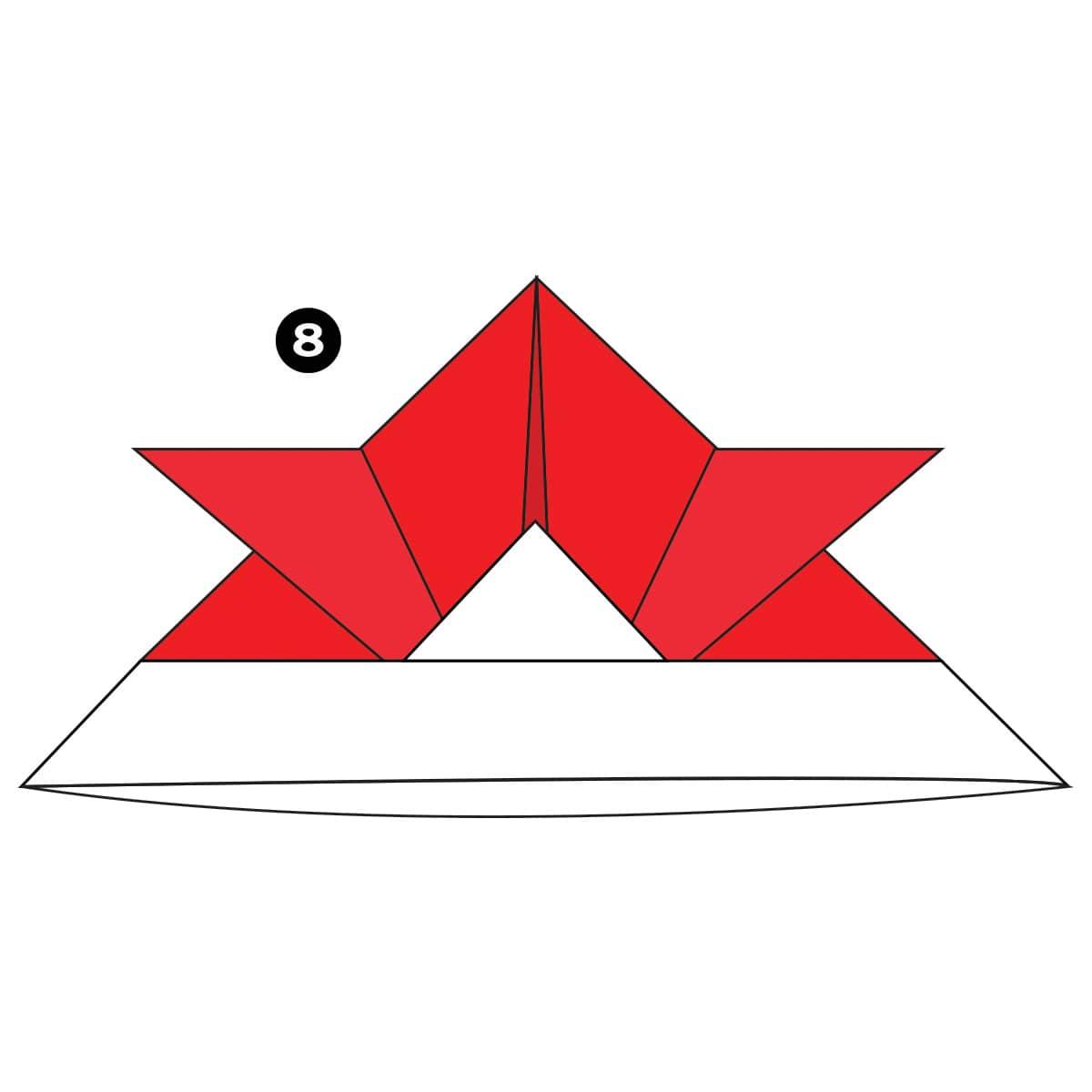 Samurai Helmet Step 8