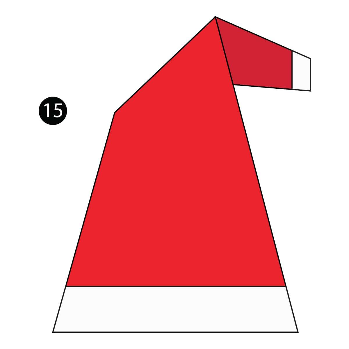 Santa Hat Step 15