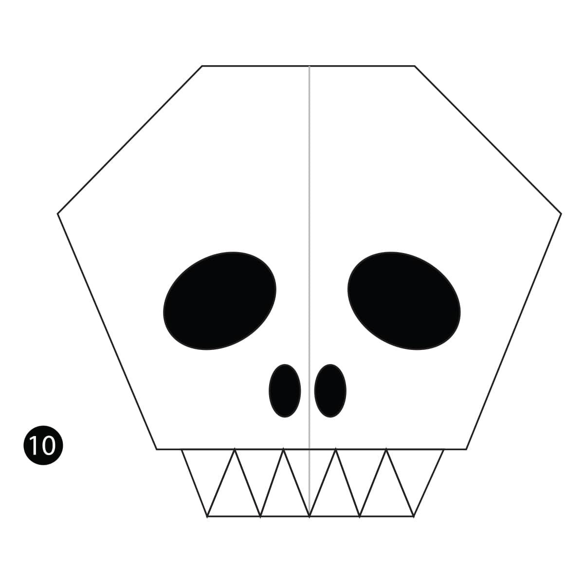 Skull Step 10