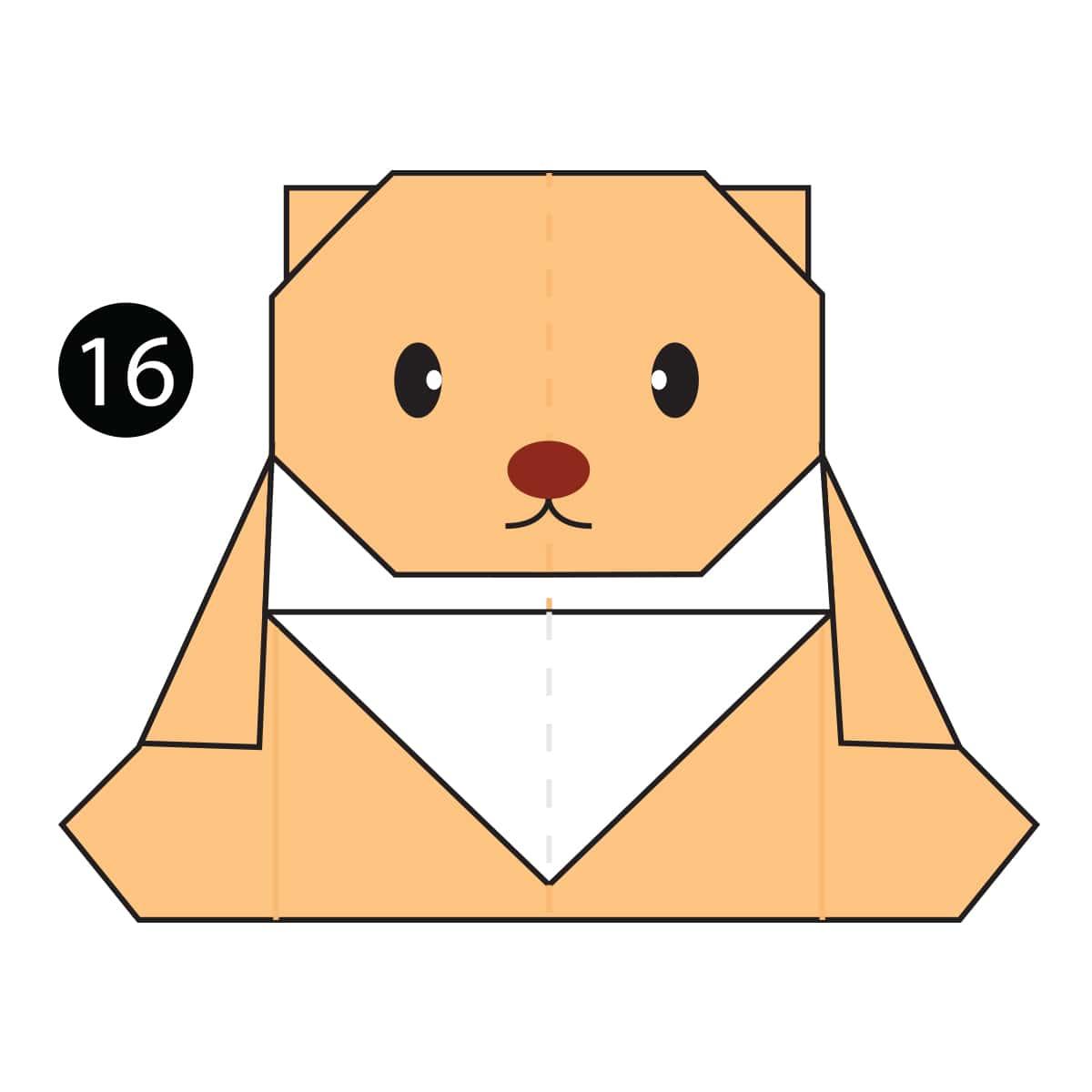 Teddy Bear Step 16