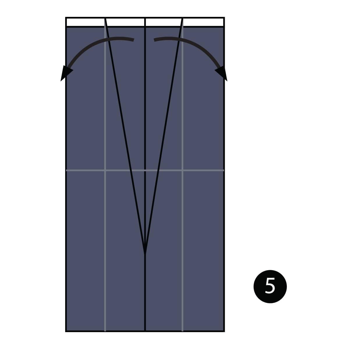 Tuxedo Step 5