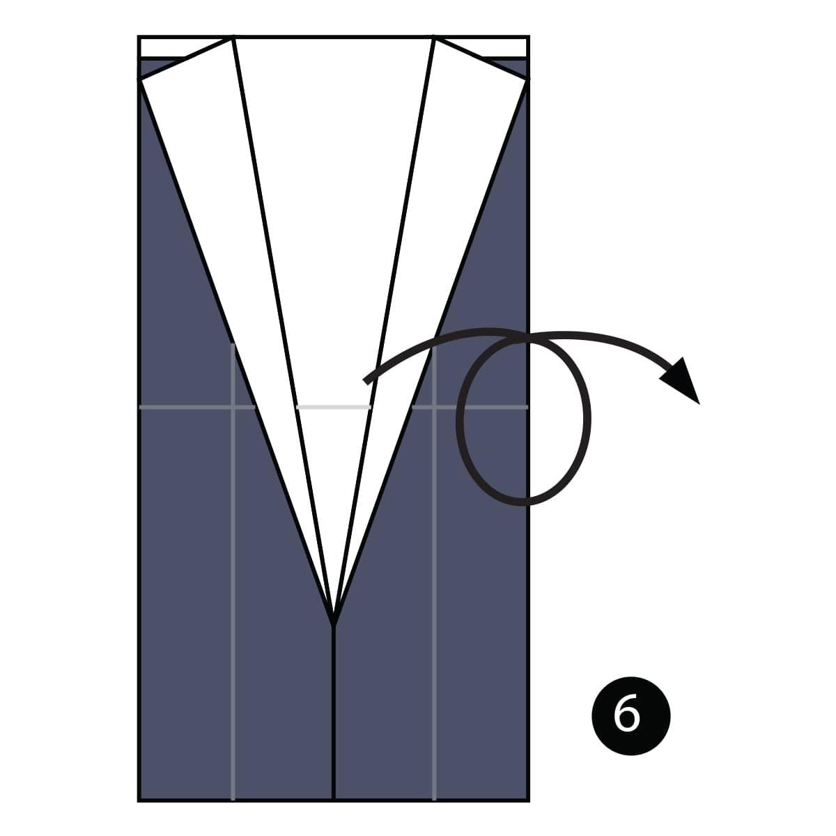 Tuxedo Step 6