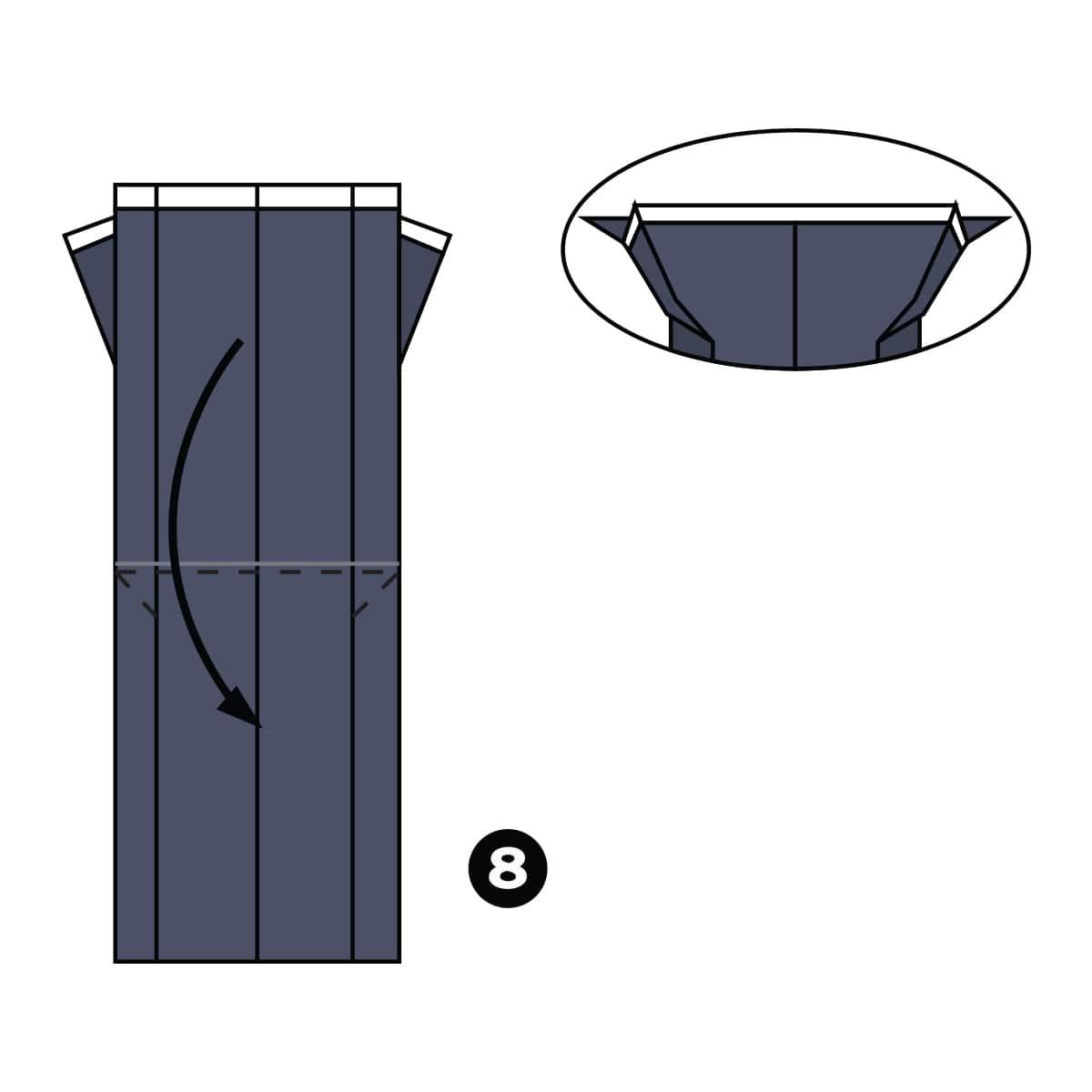 Tuxedo Step 8