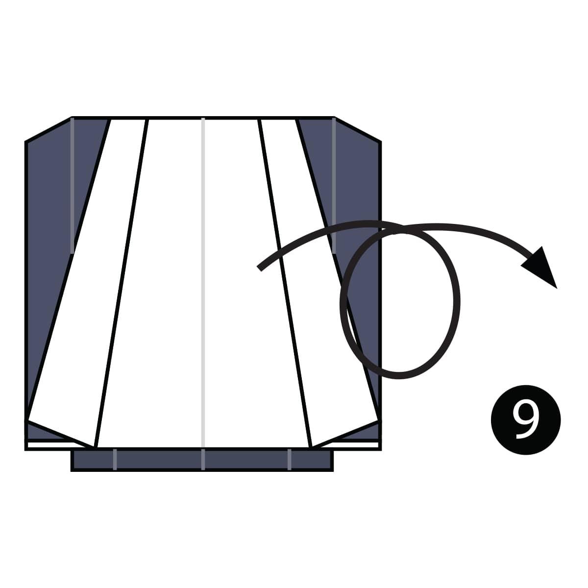 Tuxedo Step 9
