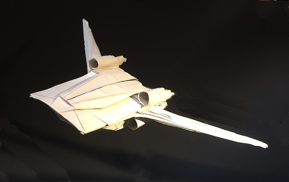 U-Wing Wings Back