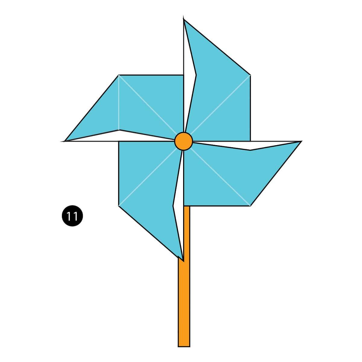 Pinwheel Step 11