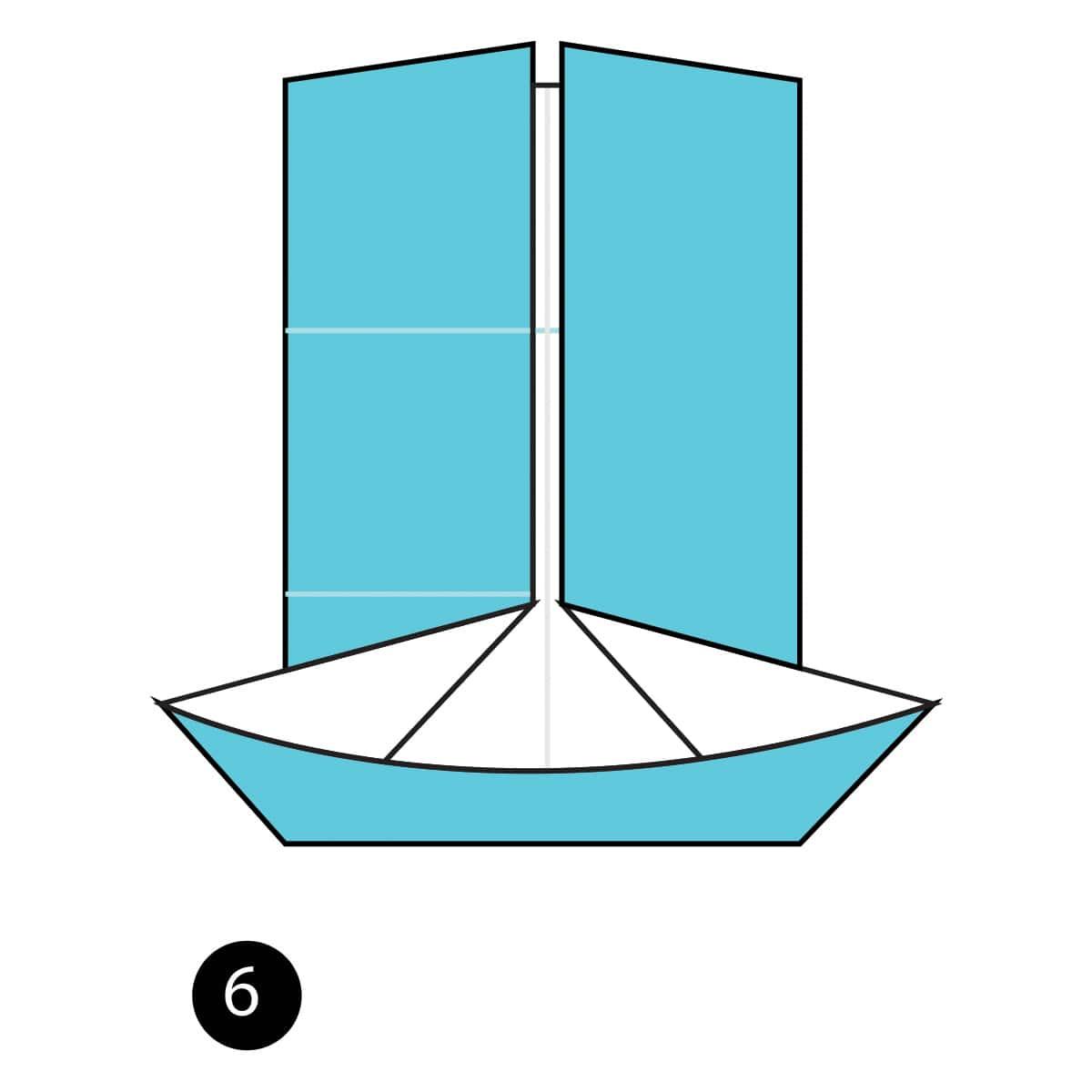 Pinwheel Step 6