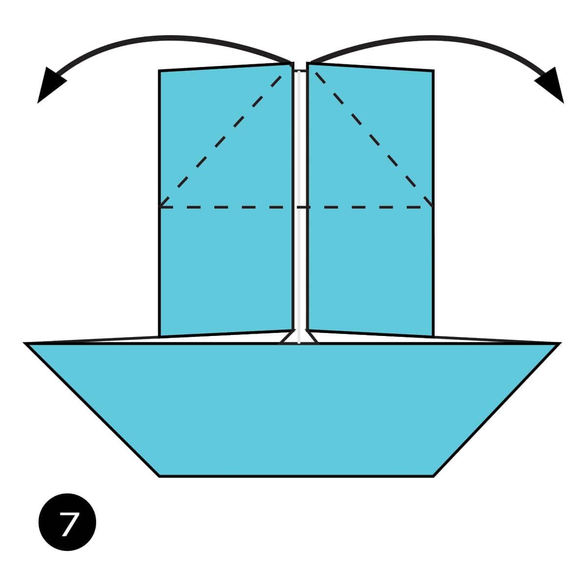 Pinwheel Step 7