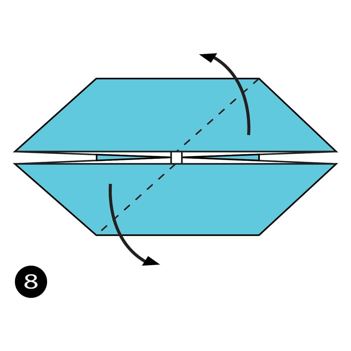 Pinwheel Step 8