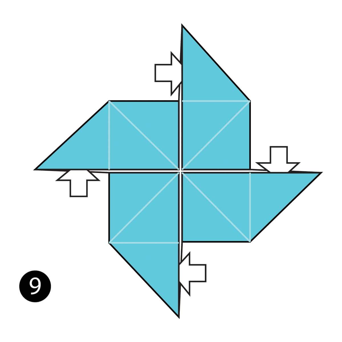 Pinwheel Step 9