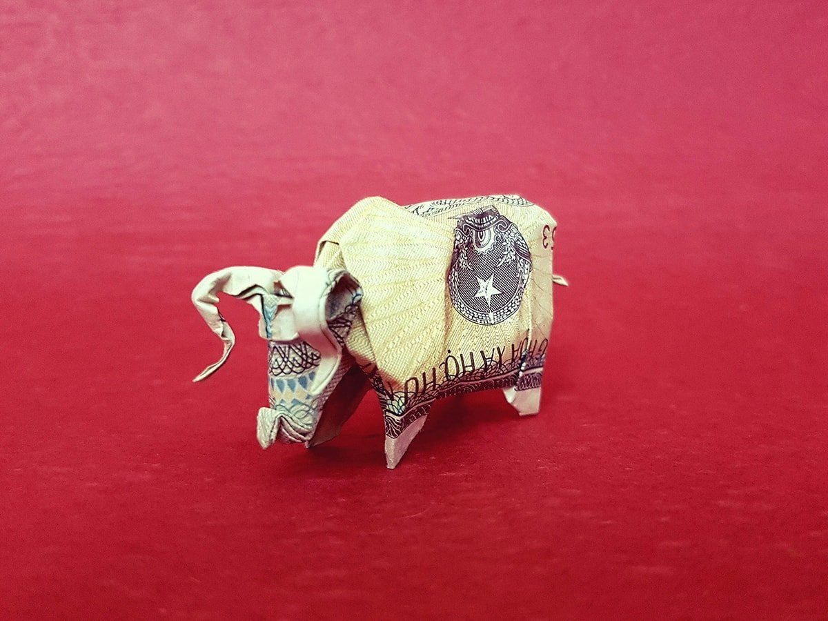 How to Make an Origami Elephant (with Pictures) - wikiHow   900x1200