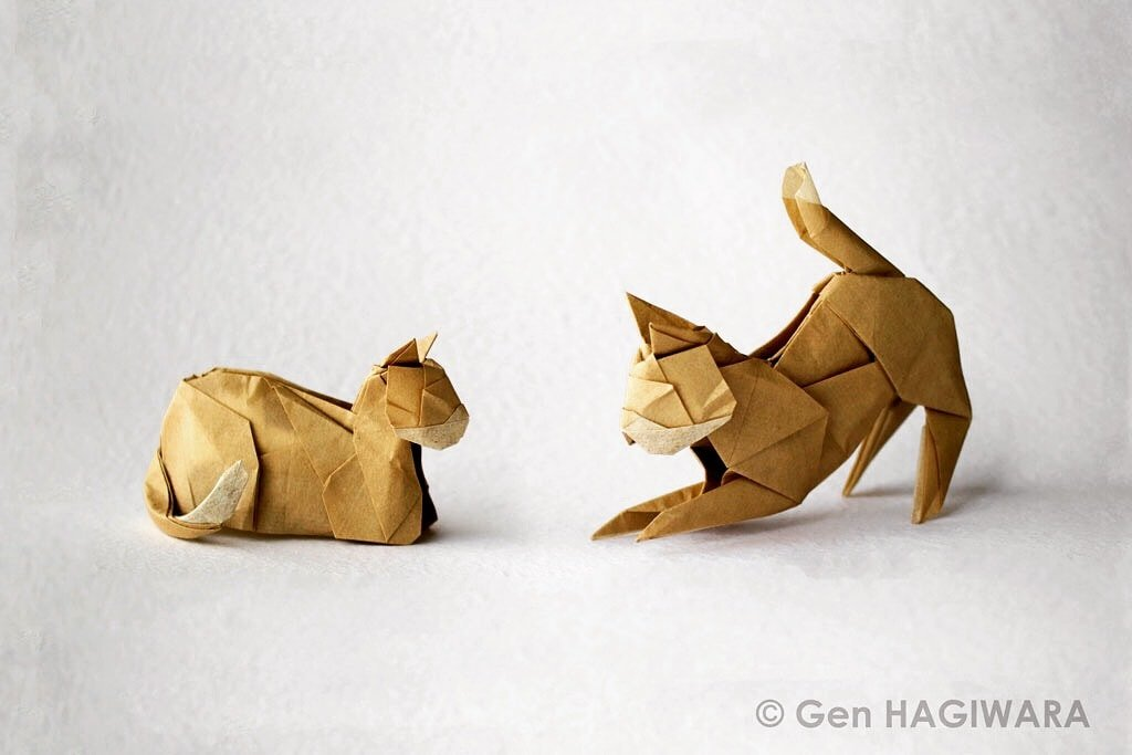 2 Cats by Gen Hagiwara