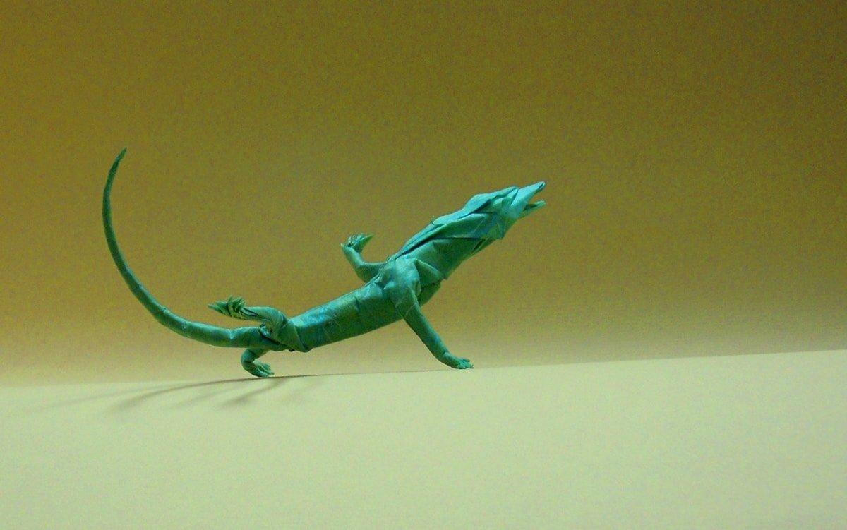 Blue Desert Lizard
