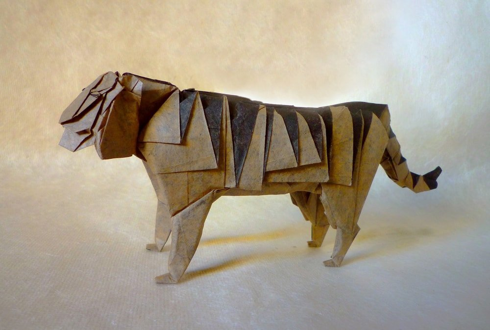 Tiger by Hideo Komatsu