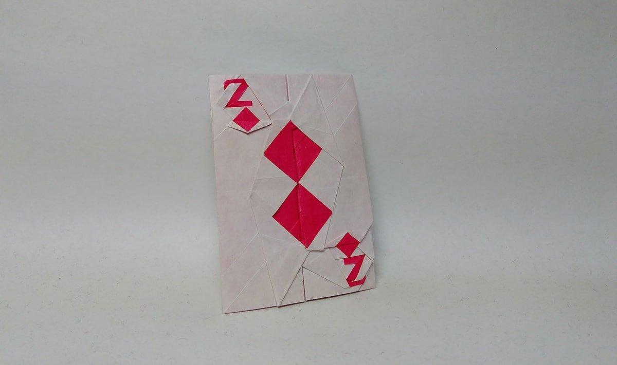 2 of Diamonds Card