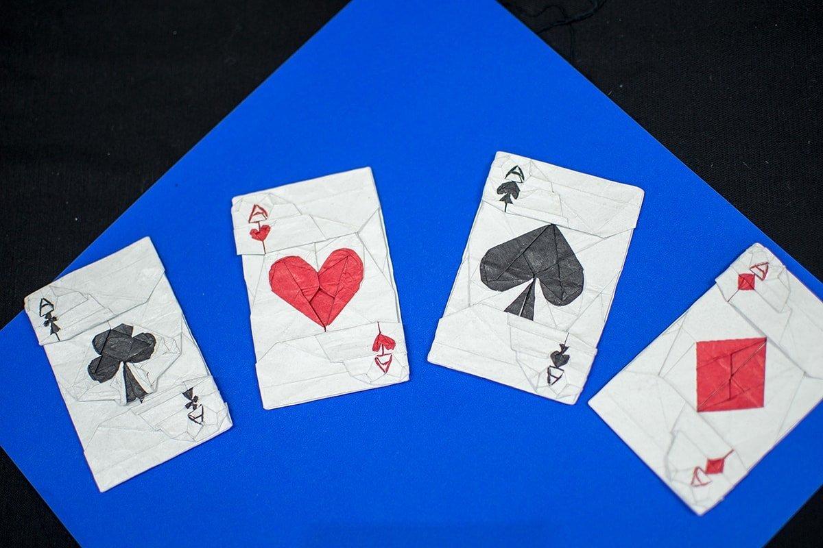 4 Ace Cards