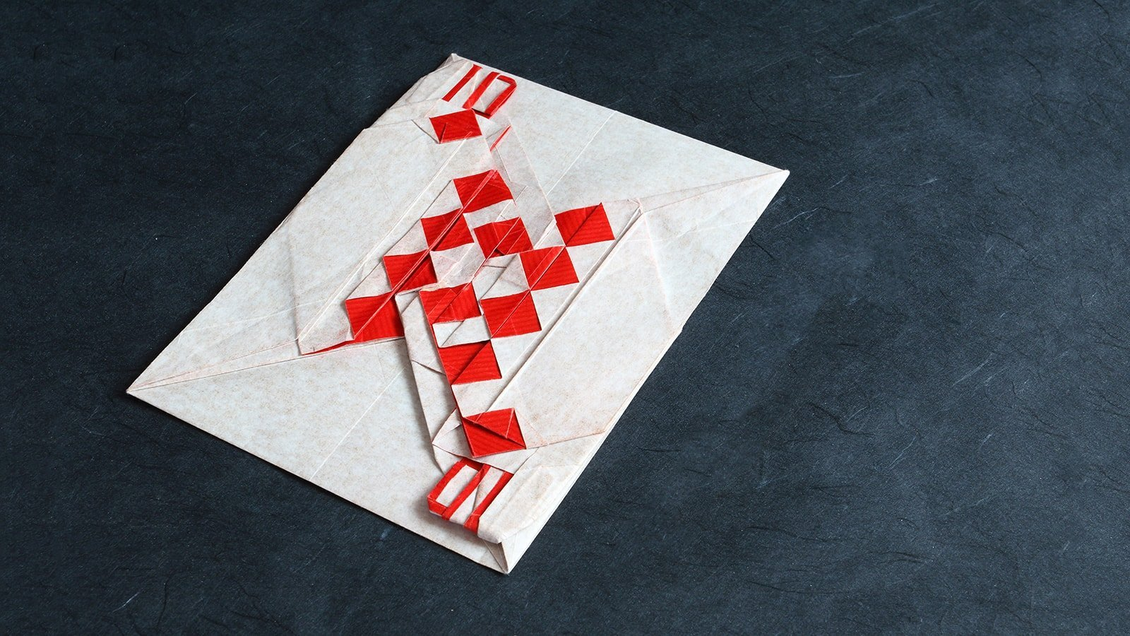 Origami Cards and Chess