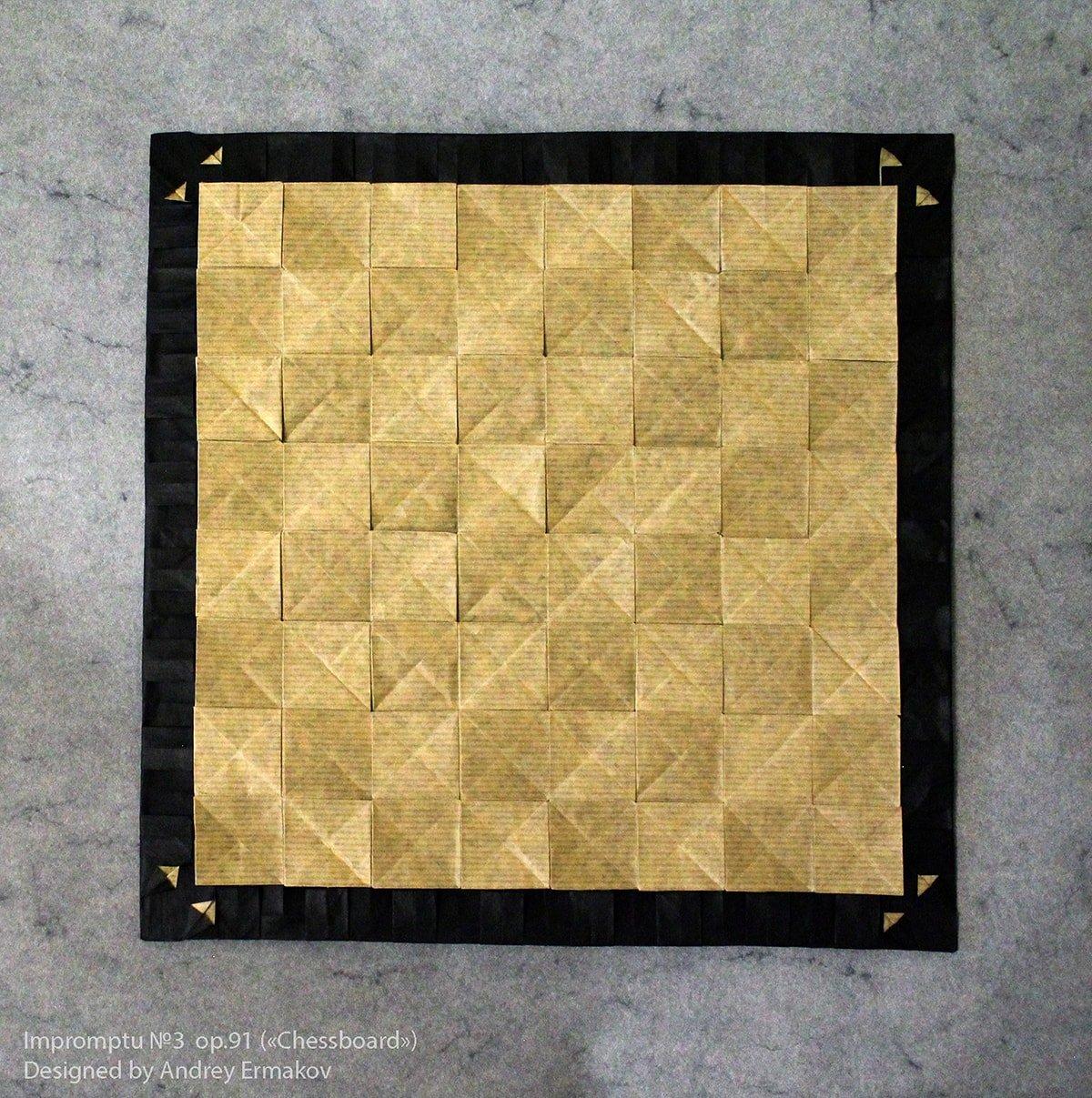 Papercraft Chessboard