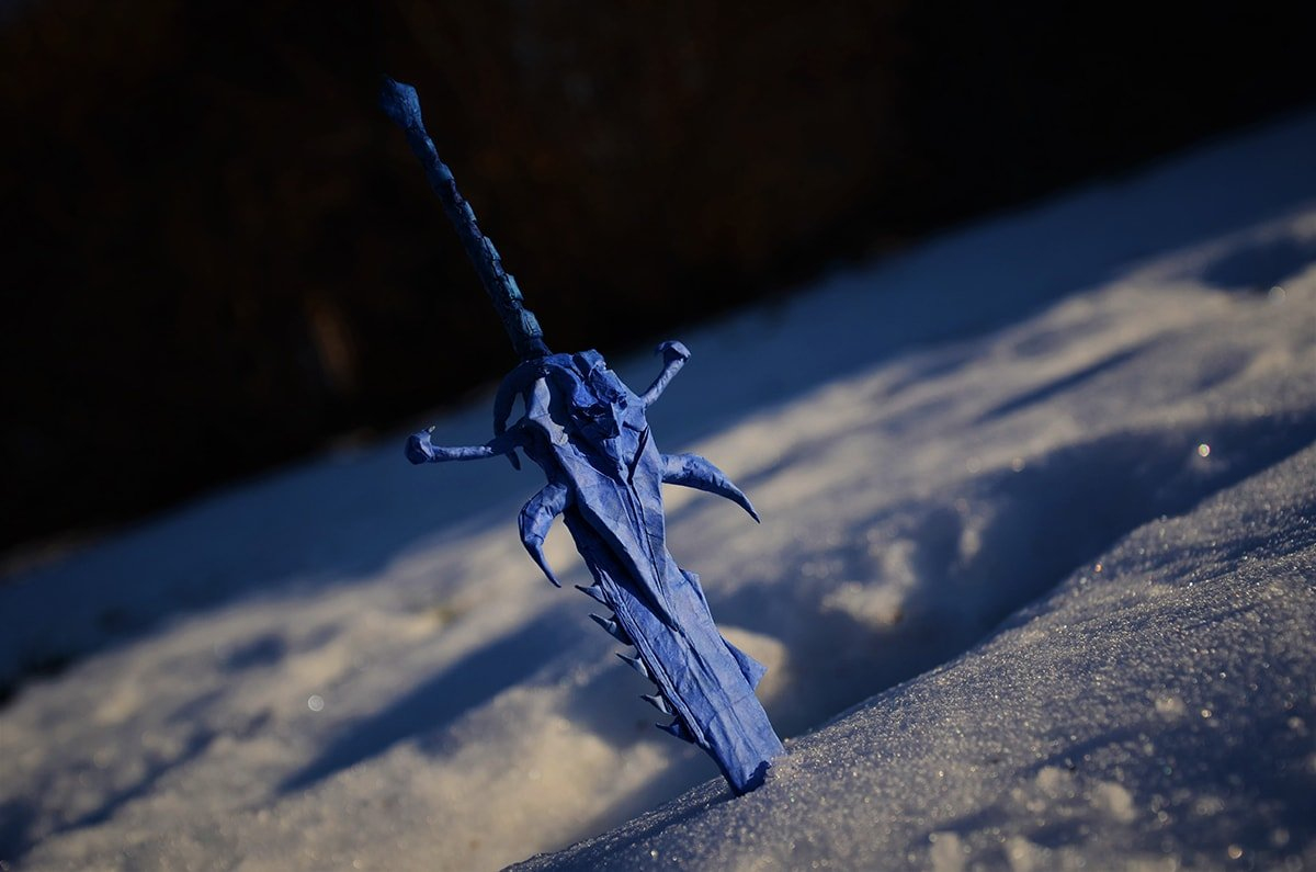 Frostmourne from World of Warcraft