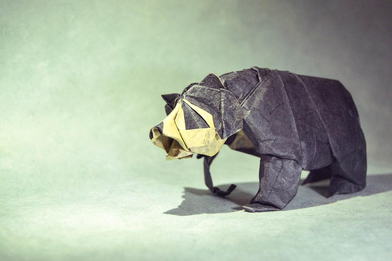 Origami Bears