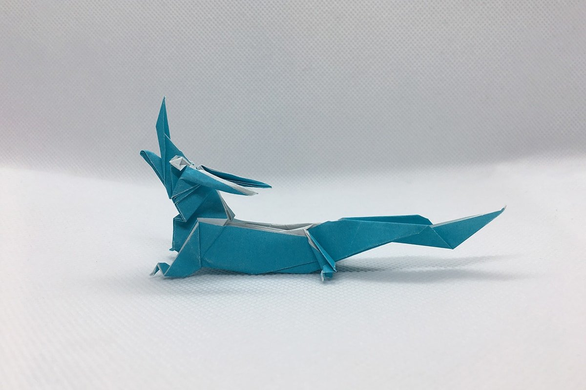 Chinese Dragon Folded by Me