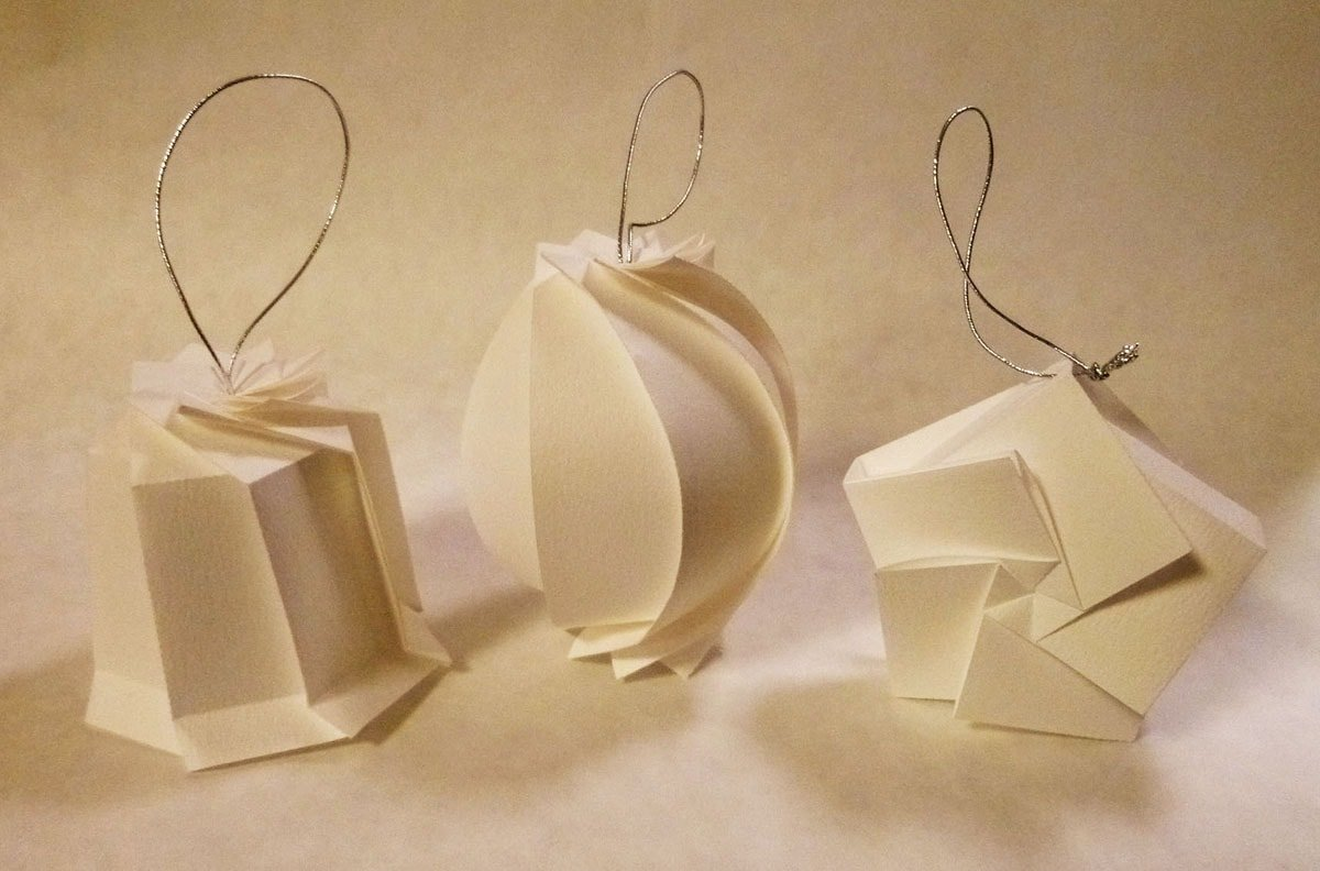 Ornaments by Jun Mitani