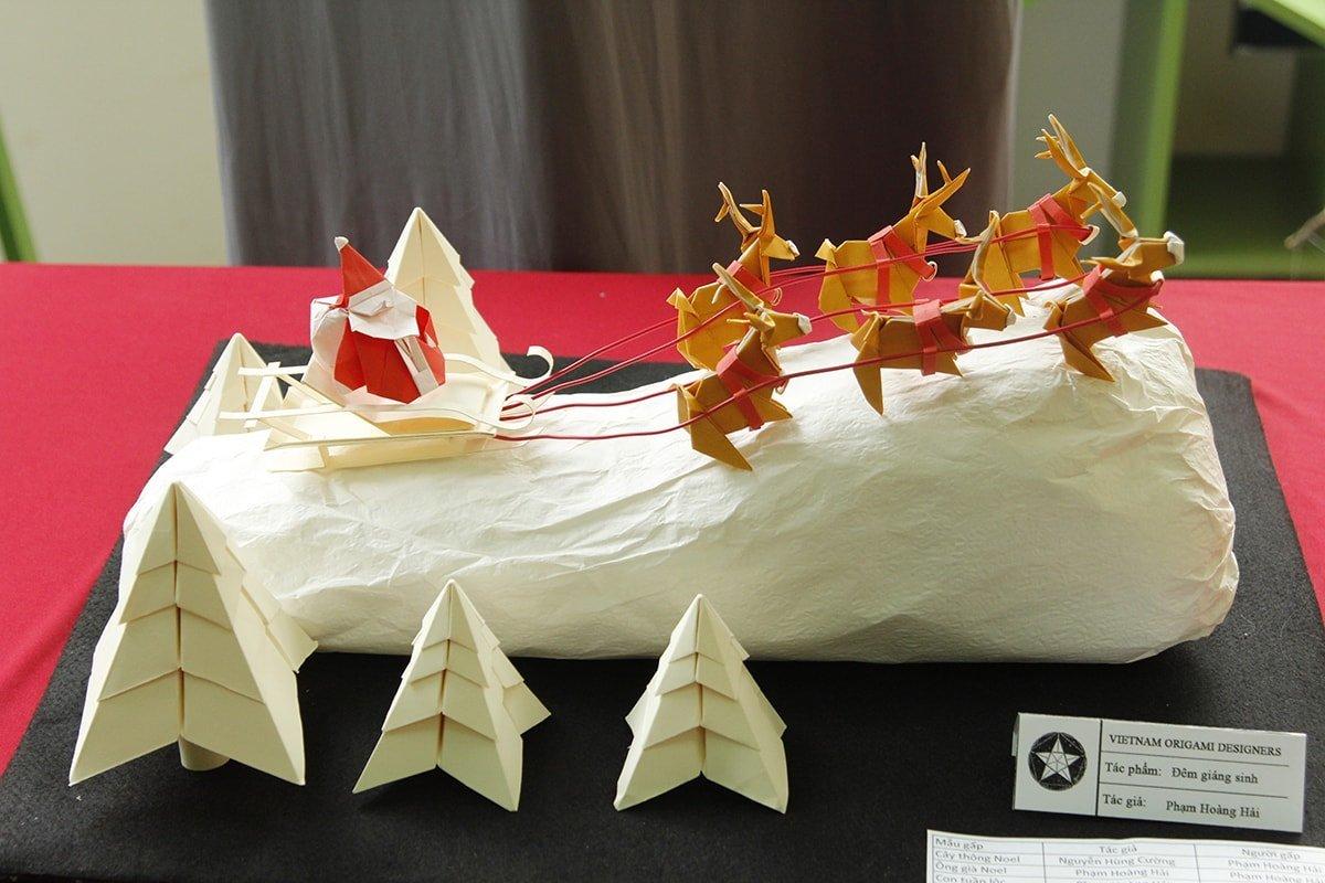 Santa Taking Flight