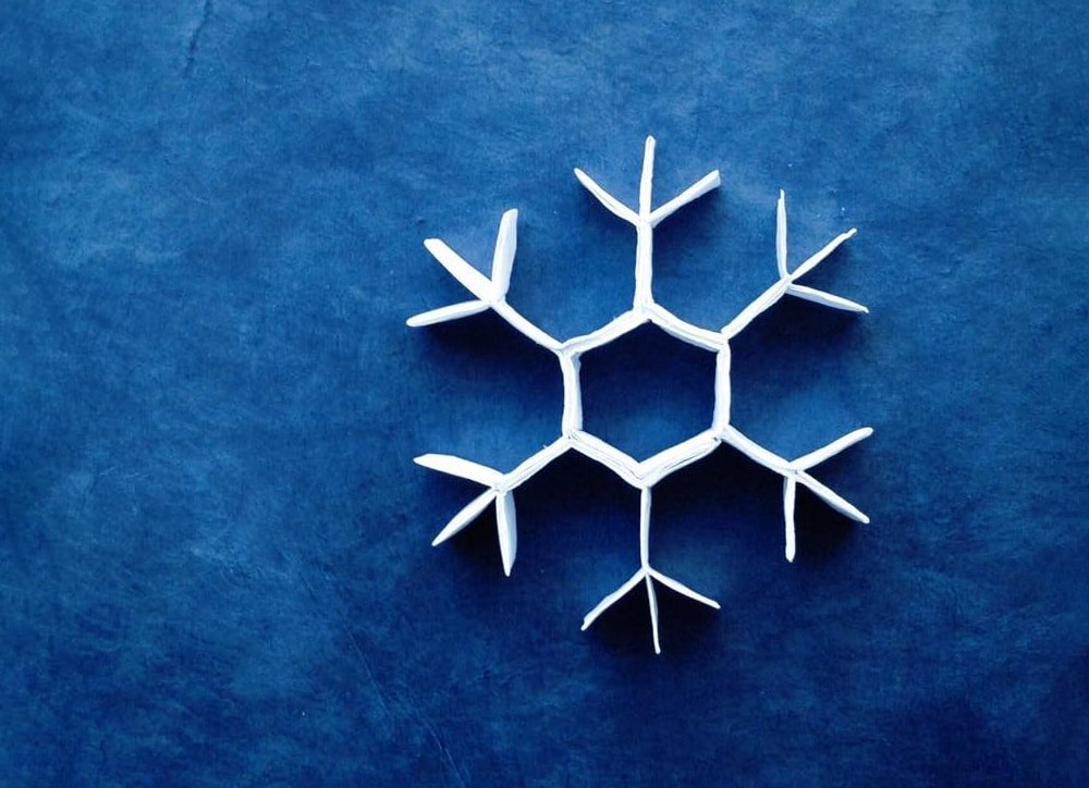Snowflake with Hole