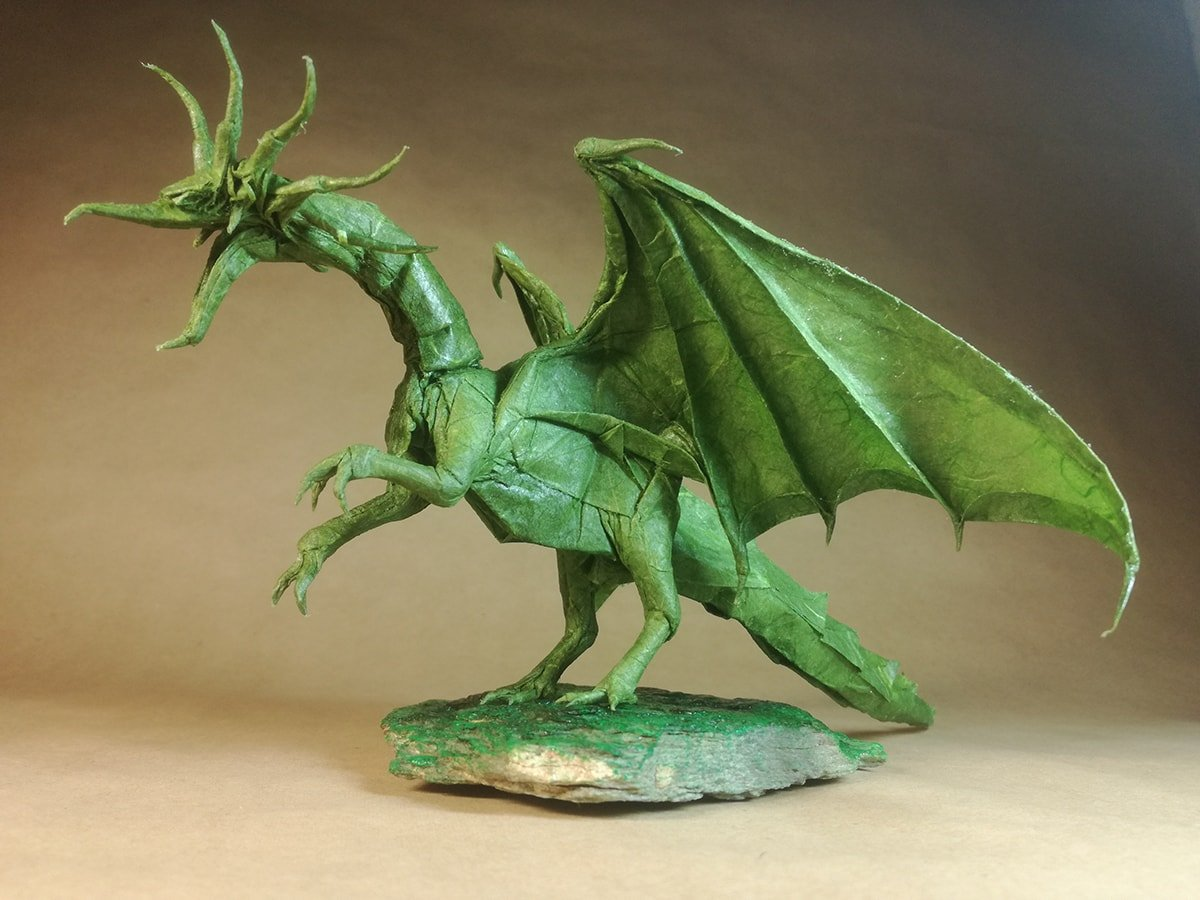 Ancient Dragon by Satoshi Kamiya