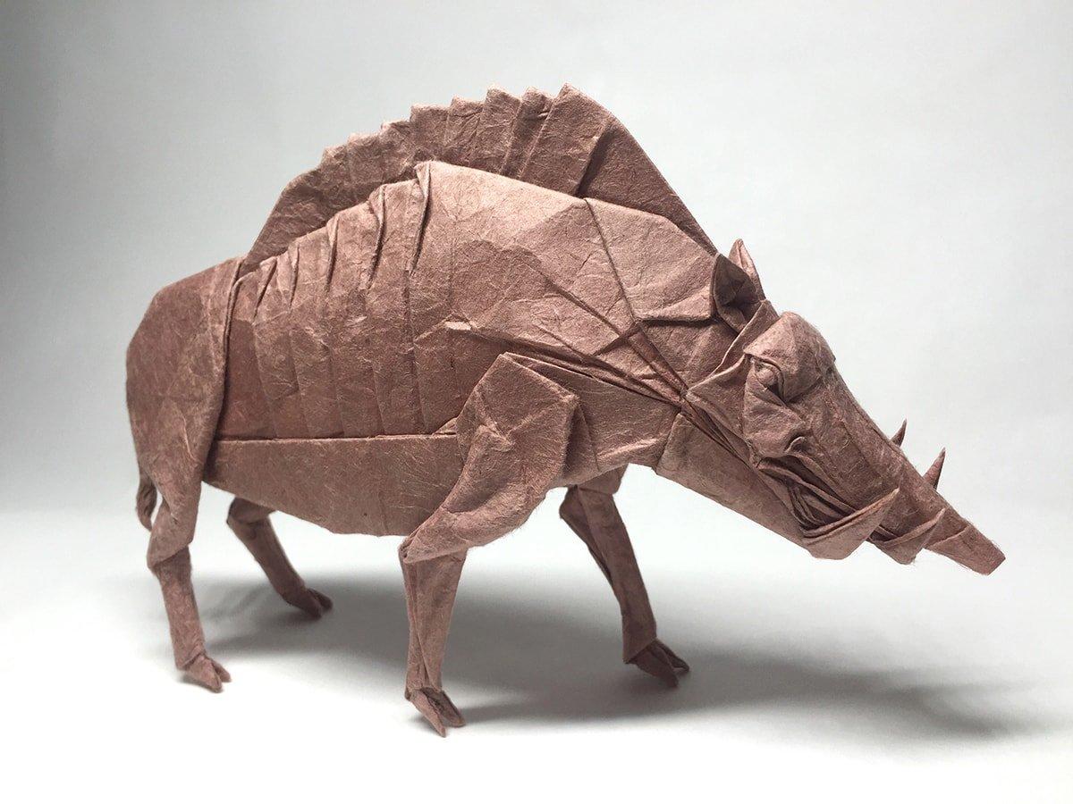 Divine Boar by Satoshi Kamiya