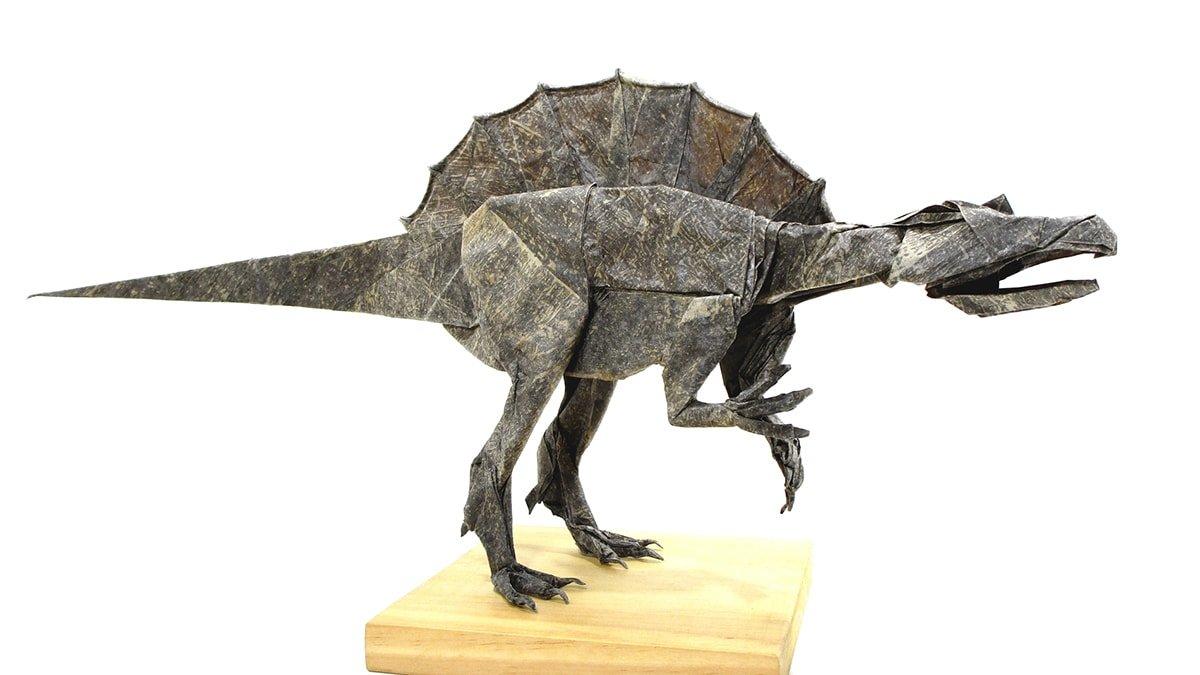 Spinosaurus by Mariano Zavala B.