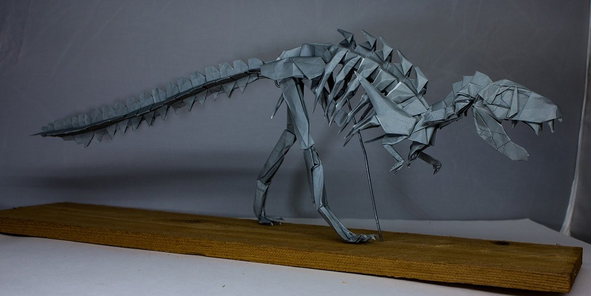 T-Rex Skeleton by Travis Nolan