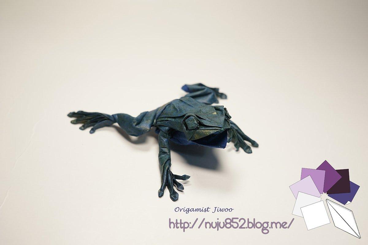 Tree Frog by Ji Woo Han