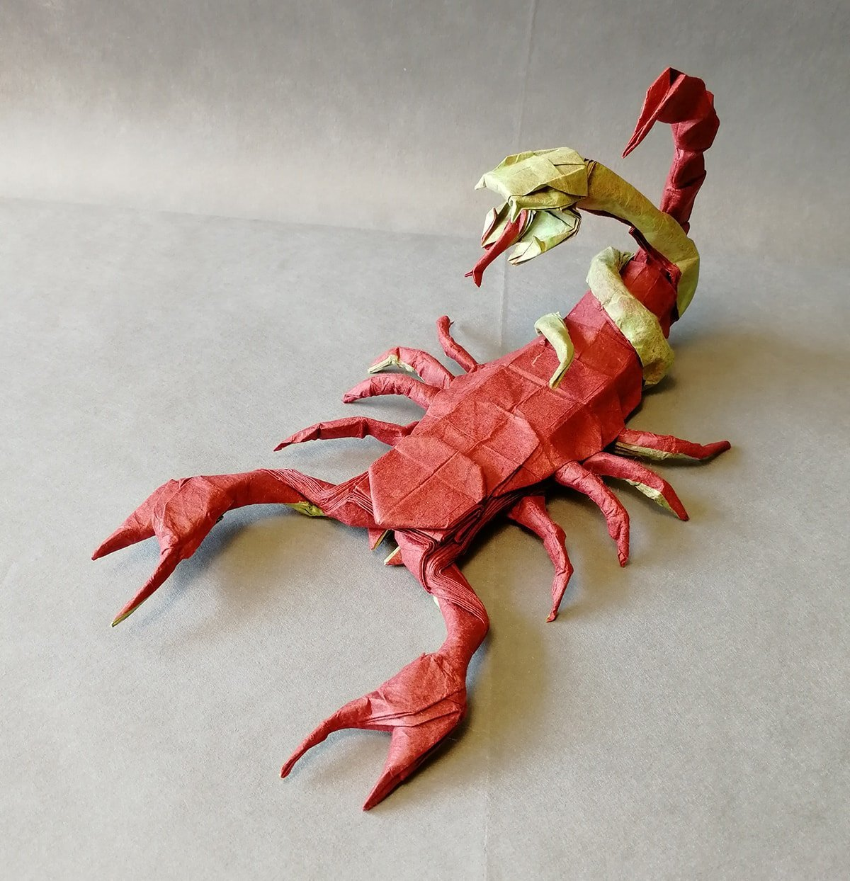 Paper Scorpion Snake