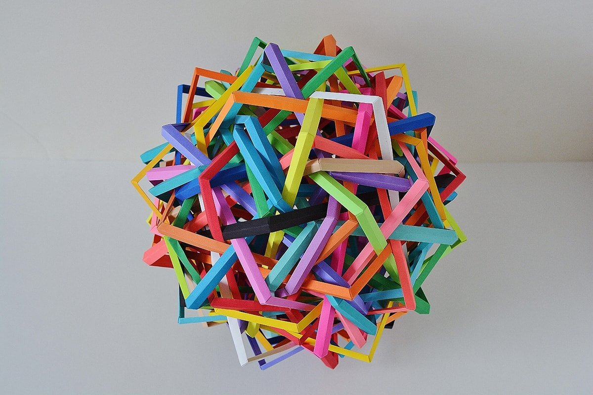 Thirty Interlocking Irregular Equatorially Truncated Triangularly Distorted Dipoles (Byriah Loper)