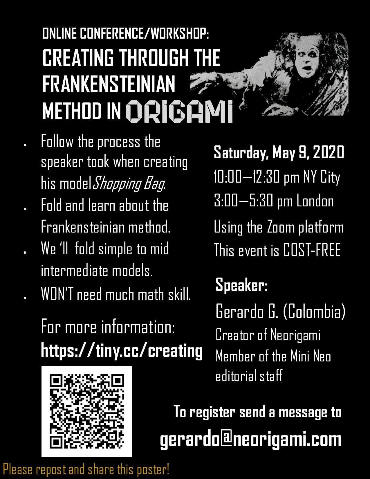 frankensteinian poster